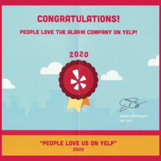 reviews-award-yelp-alarm-company